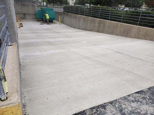 Concrete Dock Ramp